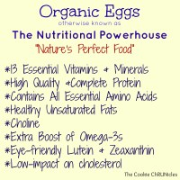 Benefits of Organic Eggs Plus A $100 Visa Gift Card Giveaway!
