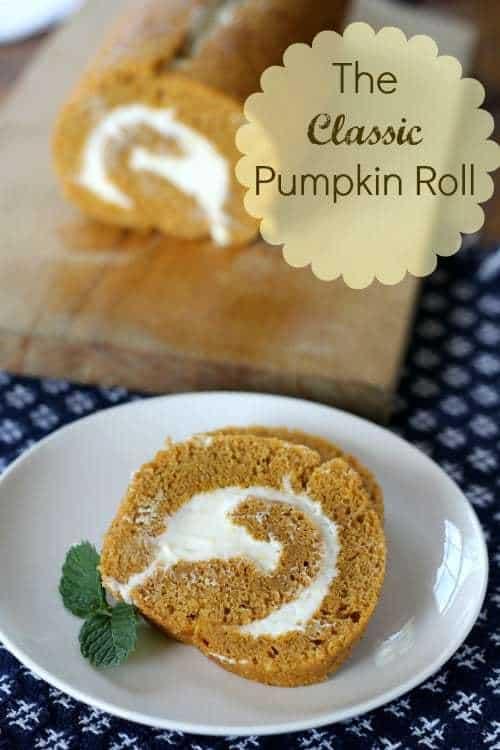 classic pumpkin roll recipe