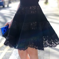 Outfit: Valentino Lace