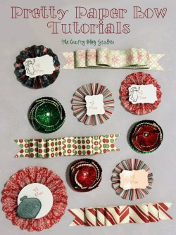 Small Of How To Make Christmas Bows