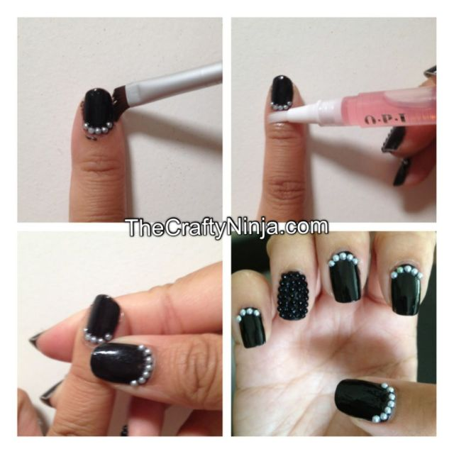 diy clean up messy nails