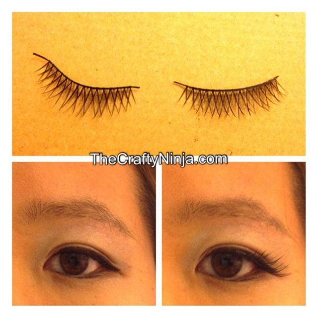 how to fake-lashes
