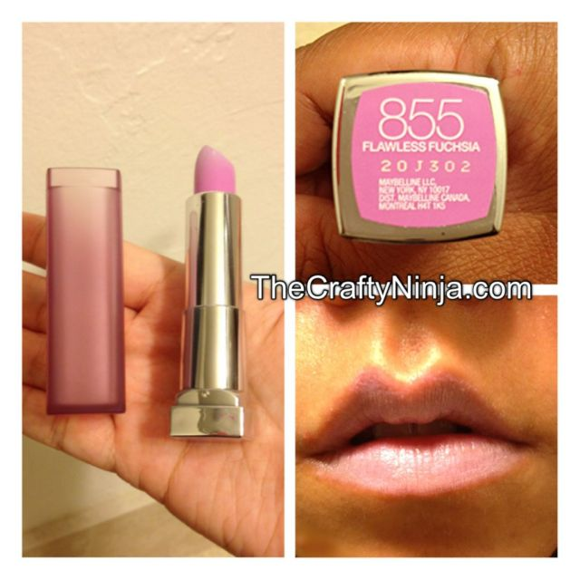 maybelline flawless fuchsia