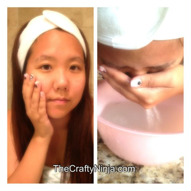 rice water facial