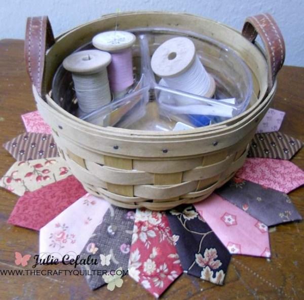 Dresden w/ sewing basket
