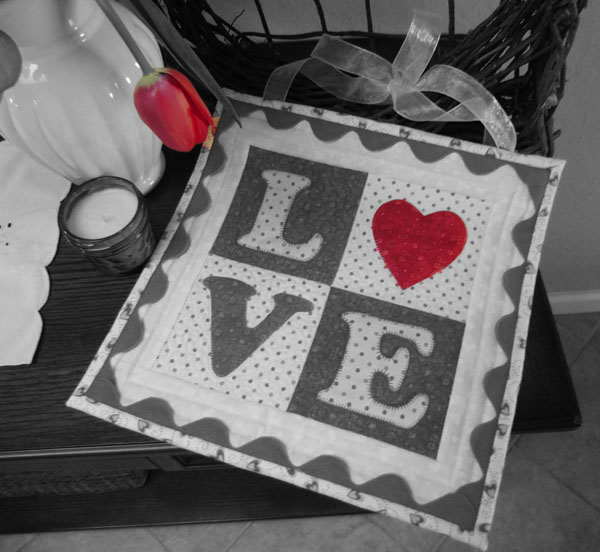 Love Letters Quilt at The Crafty Quilter