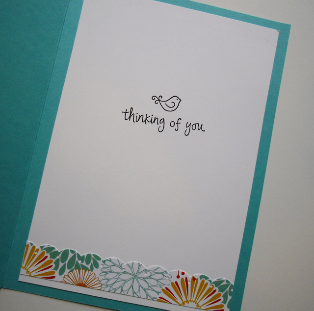 Mother's Day Card inside