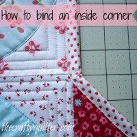 How to bind an inside corner
