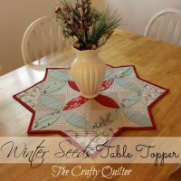 Christmas Once a Month: Winter Seeds Table Topper