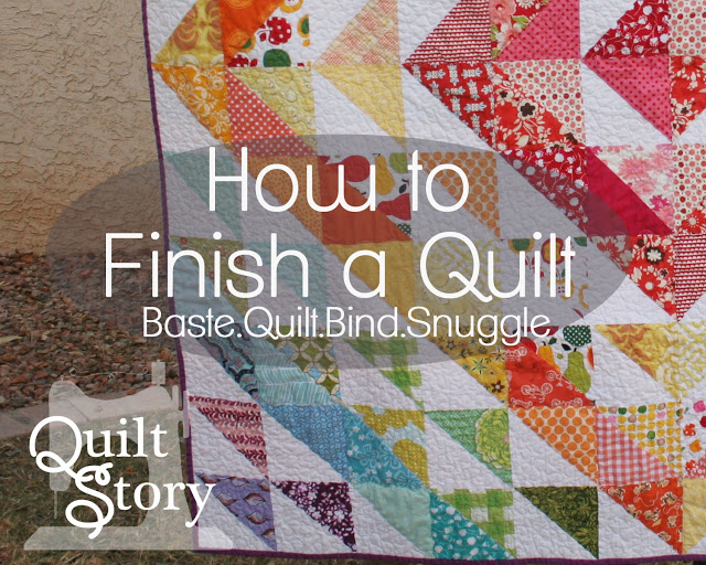 How to Finish a Quilt from Quilt Story