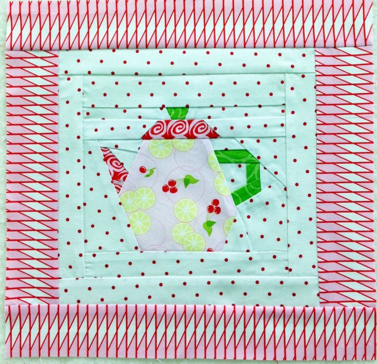Paper Pieced teapot