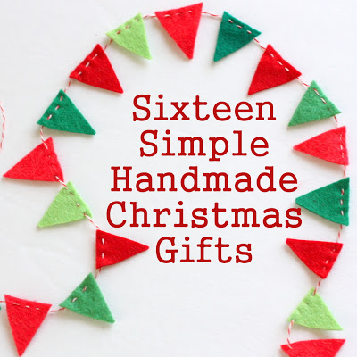 Simple Handmade Christmas gifts tutorials @ Diary of a Quilter