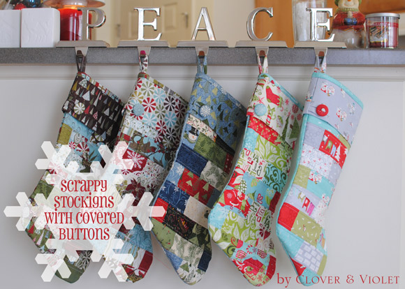Scrappy stockings @ Clover & Violet