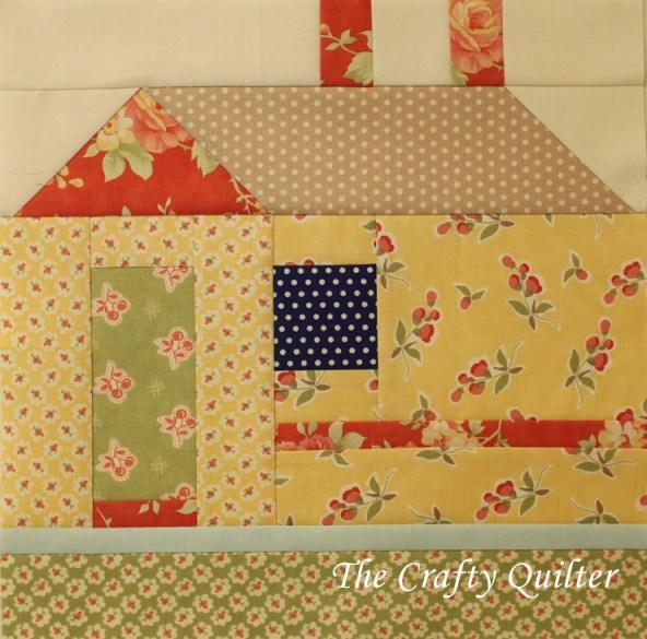 Block #7 of the FQS 2013 Designer Mystery BOM, made by julie Cefalu