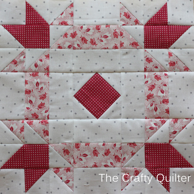 My Quilt Block For Pink S Sake The Crafty Quilter