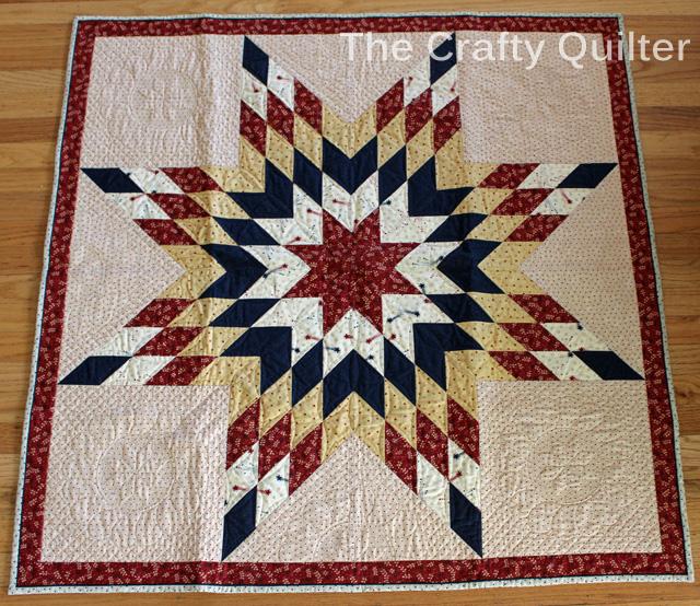 Americana Star of Bethlehem @ The Crafty Quilter
