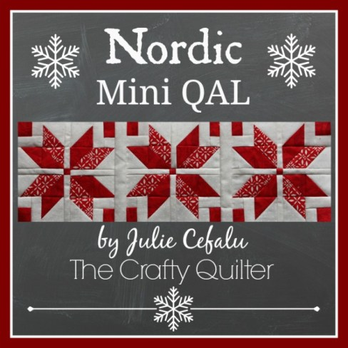 Nordic Mini QAL at The Crafty Quilter