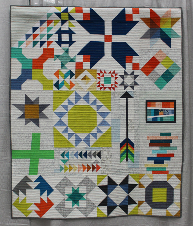"1st Place, Modern Traditionalism:  ""Long Island Sampler"" by Kim Soper"
