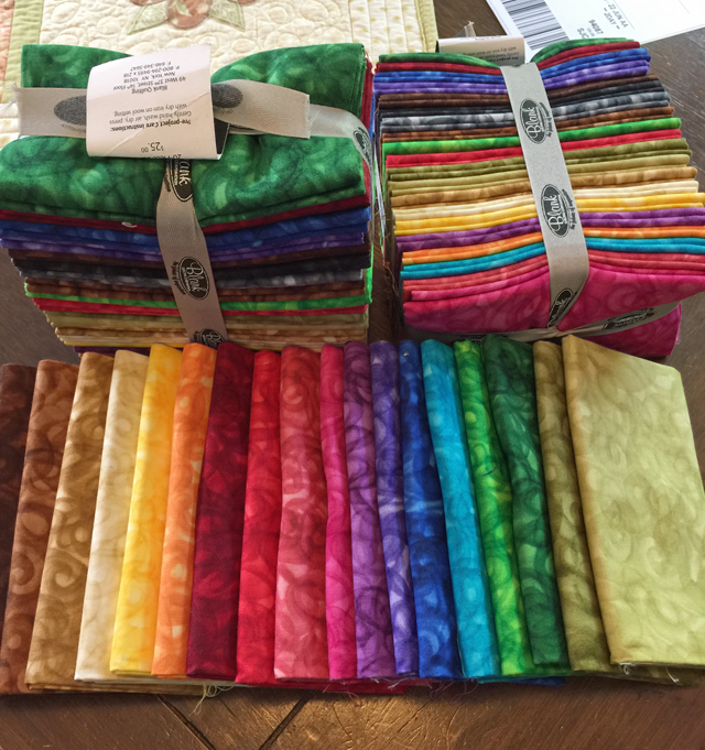 blank quilting package