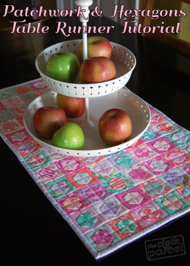 Patchwork-and-Hexagons-Table-Runner-700x980