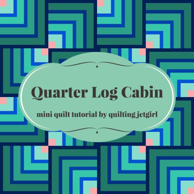 quarter-log-cabin-mini-quilt-tutorial1
