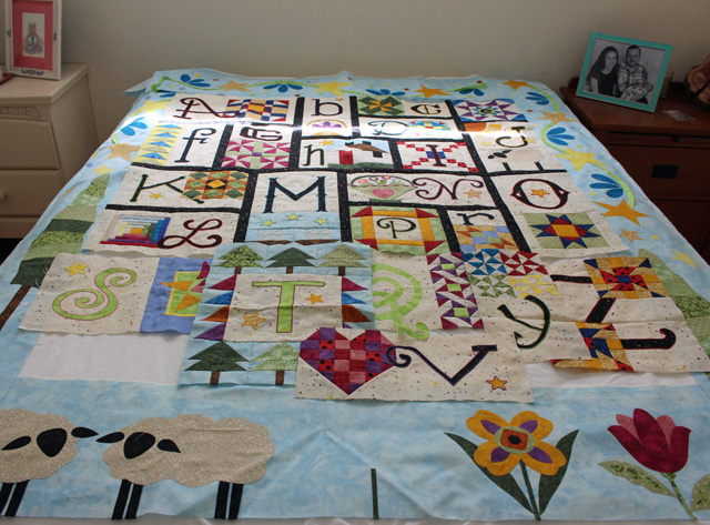 A to Z for Ewe and Me, my UFO project @ The Crafty Quilter