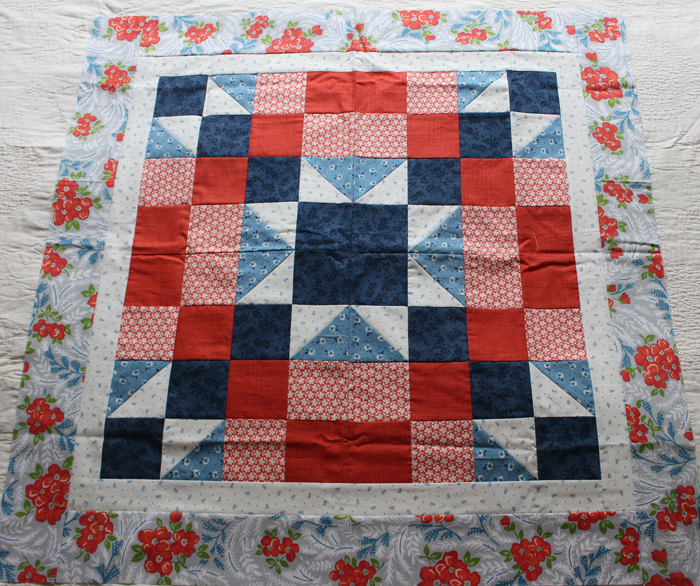 beg quilt sample on bed 2