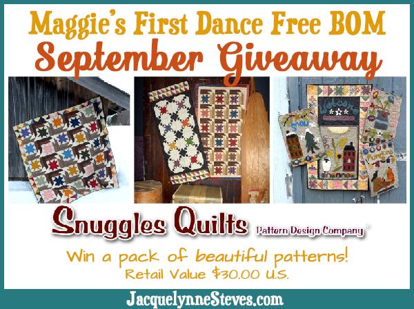 September Snuggles-Giveaway