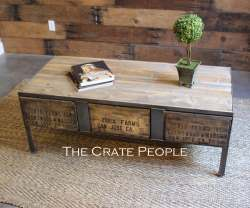 Small Of Industrial Coffee Table