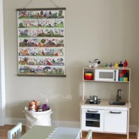 How to Make a Large Poster Frame {for only $6}