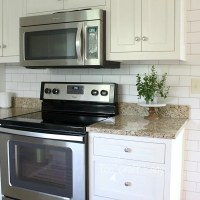 Easy Subway Tile Temporary Backsplash Tutorial