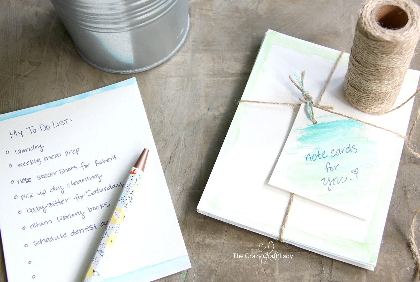 Fullsize Of Easy Note Cards
