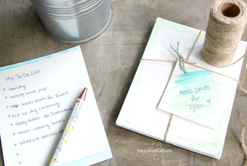 Incredible A Watercolor Tutorial Crazy Easy Note Cards Chapter 12 Easy Note Cards Chapter 31 Se Watercolor Personalized Note Cards Are So Easy To Y Make Personalized Note Cards