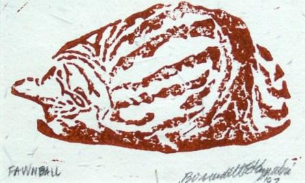 Tabbies-Fawnball-oak-rust-oatmeal-print