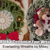 Holiday Wreaths + Video Tutorial