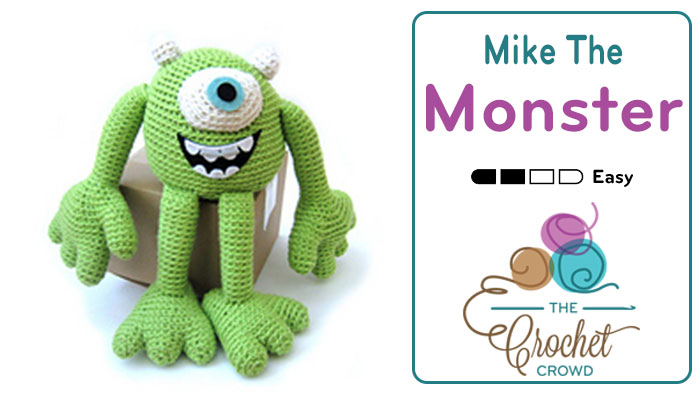 Crochet Mike the Monster