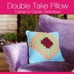 Corner to Corner Pillows aka Double Take Pillow