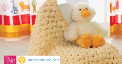 Get the Free Pattern, Puffy Baby Blanket