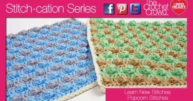 Crochet Popcorn Textures