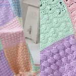 Crochet Baby Sampler Afghan + Tutorial