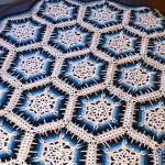 Winter Blizzard Snowflake Crochet Afghan + Tutorial