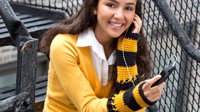 Crochet Wristers + Tutorial