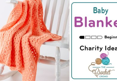 Crochet Easy Peasy Blanket + Tutorial