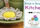 Crochet Sunshine Scrubby + Tutorial