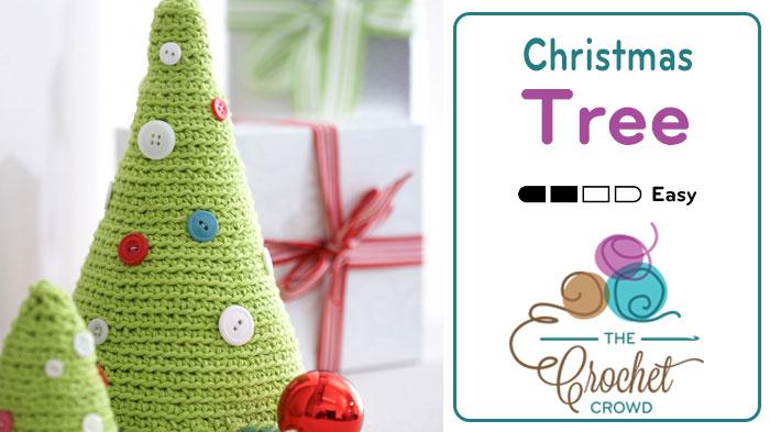 Crochet Christmas Tree + Tutorial