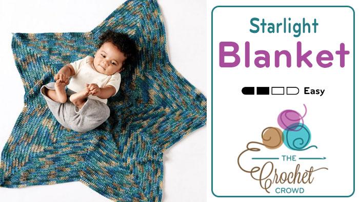 Crochet Starlight Blanket + Tutorial