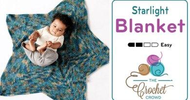 Crochet Starlight Baby Blanket