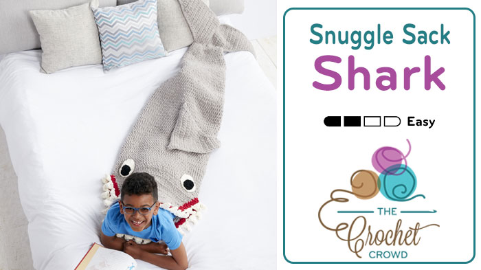 Crochet Shark Sleep Sack Pattern