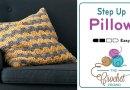 Crochet Step Up Pillow + Tutorial