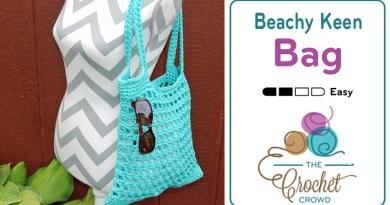 Crochet a Beachy Keen Tote Bag
